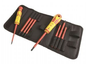C K 1,000V VDE Interchangeable Bladed Screwdriver Set - T4915